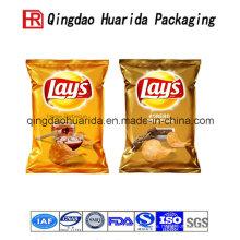 Heiß versiegelnde Plastikverpackungs-Snack-Tasche