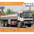 ISUZU 6X4 22000L Aluminium gasoline transport truck