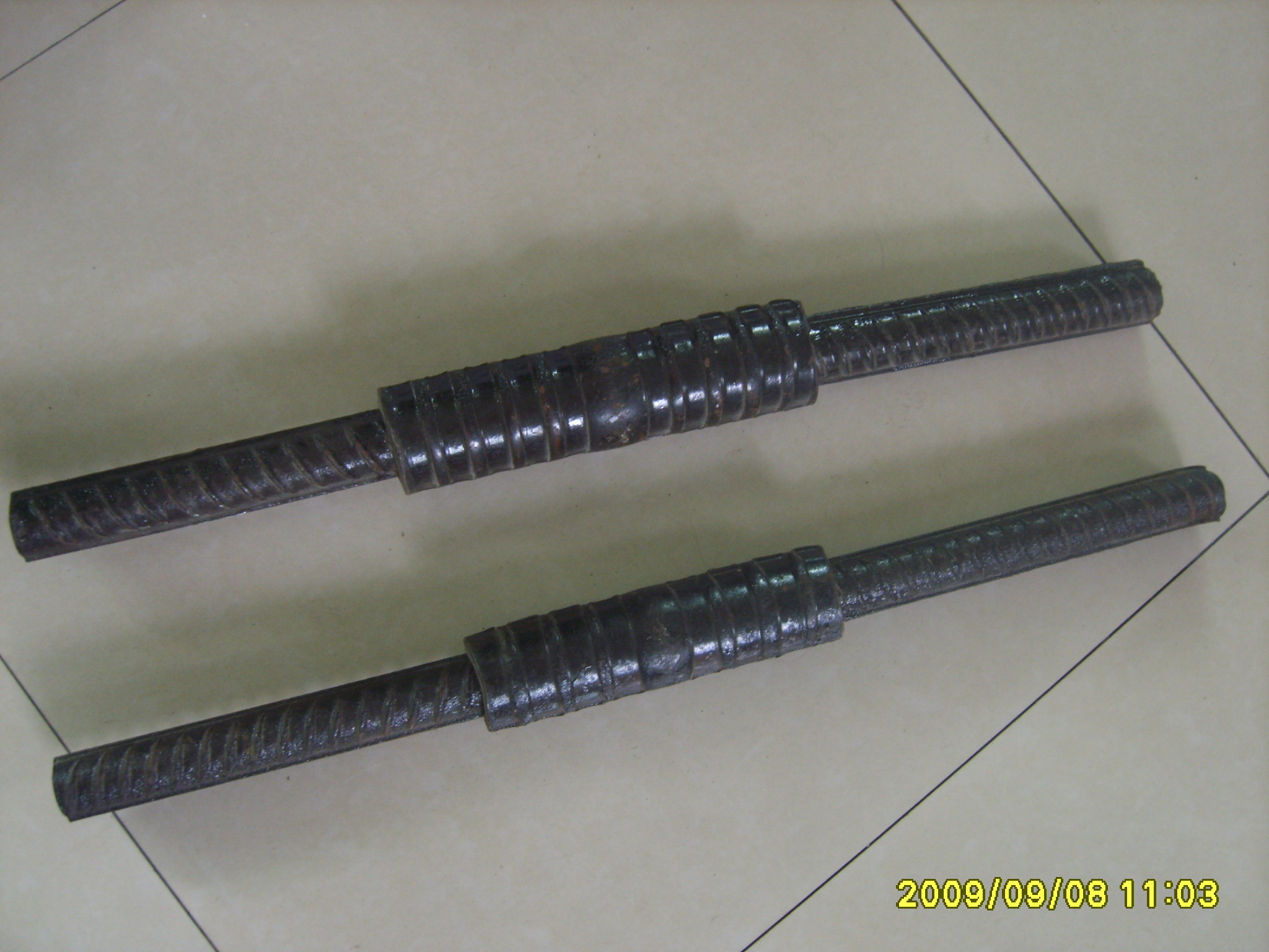 Cold Extrusion Rebar Coupler