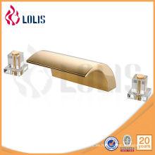 No concussive fría / caliente un grifo del lavabo del agujero (LLS02750)