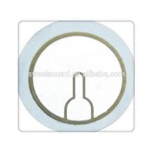 Elément vibratoire piézoélectrique le plus vendu, fabricant de disques piézoires 31 mm