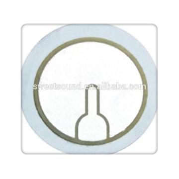best seller piezoelectric buzzer element 31mm piezo disc manfacturer
