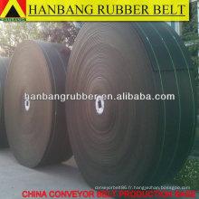 Tapis tissé solide PVC ceinture des années 1800 X300m/roll pour industrie minière