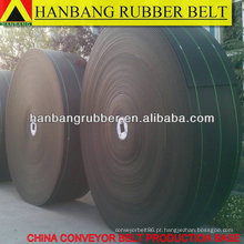 Correia de transporte de tecido PVC sólido de 1800 X300m/roll para a indústria de mineração