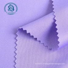 Tissu tricoté piqué 100% polyester