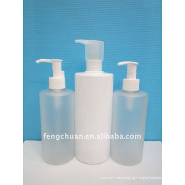 300ml 500ml Clear cosmetic packaging empty body lotion dispenser bottle