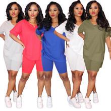 Короткие комплекты женщин из 2-х частей одежды