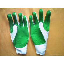 PVC Coated Rubber Gloves
