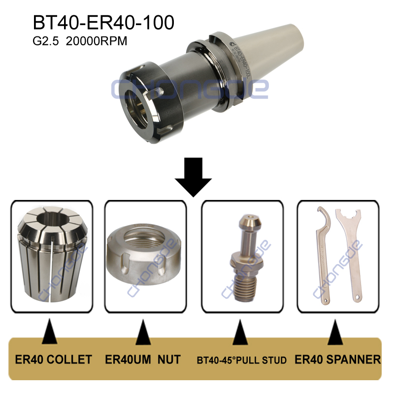 High Precision BT Collet Chuck