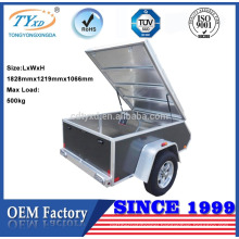 4ft x 6ft aluminum enclosed utility trailers for sale