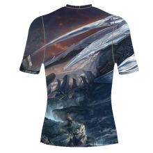 Venda quente de China Sublimated completa Camiseta