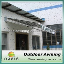 manual-operated retractable awning