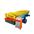 TY1035 type arc glazed metal roofing tile roll forming machine video