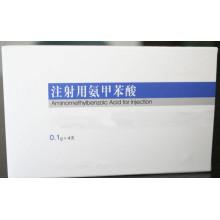 Inyección de ácido aminometilbenzoico de alta calidad