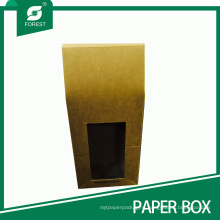Kraft Take-out Food Packaging Box with Window