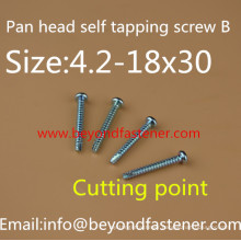 Self Tapping Screw Thread B Cutting Thread T17
