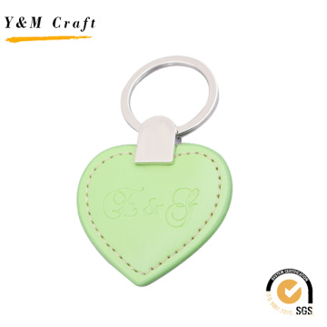 Leather Key Accessories, Leather Tag Keychain (Y03875)