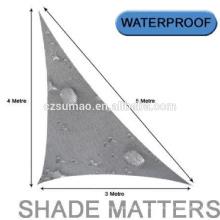Fabricación especial 100% virgen hdpe hilo de fibra redes de sombra