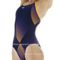 Mulheres fortes de compressão swimsuit one piece