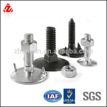 OEM stainless steel fanged elevator bolt