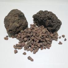 China liefern natürliche vulkanische Felsen-Filtermedien für Wasserbehandlung