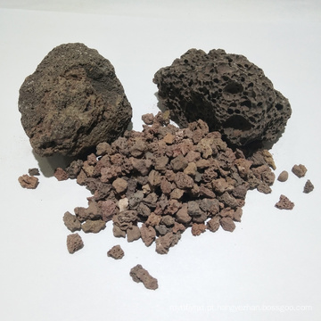Meios de filtro de alta qualidade da rocha vulcânica para o tratamento da água