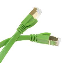 Câble de raccordement plat haute performance rj45 cat6a haute performance