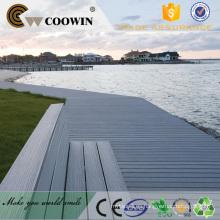 Paisaje sólido impermeable al aire libre con decking compuesto