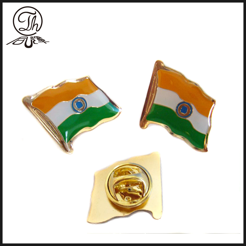 national Flag Pin Metal