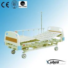 Central Braking Two Cranks Manual Adjustable Hospital Medical Bed (B-6)