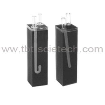 Q-165 20mm Path Length Good Quality Self mashing continuous flowthrough cell