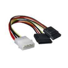 Câble adaptateur Molex to SATA Power Y Splitter