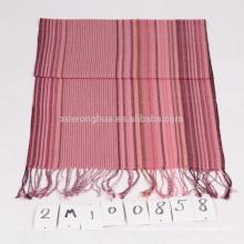Promoción 100% lana bufanda stock