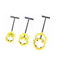 """H4S, H6S, H8S coupe-tube articulé / machine de coupe de tube en acier portable, 4 """"-8"""""""