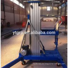 Plataforma pequeña tipo hidráulico de elevación de tijera