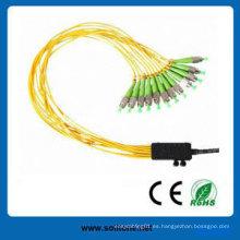Pigtails con conectores FC / APC y Sc / APC