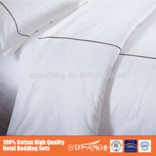 Nantong hotel King Size ensembles de chambre à coucher Ensembles de housse de couette