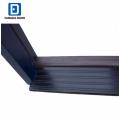 Fangda superficie azul 4 lite vidrio pintado contemporáneo puertas de seguridad