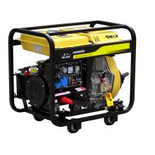 Gerador de soldagem a diesel ao ar livre (DG8600EW)