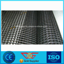 Bitumen Coated Fiber Glass Biaxial Self-Adhesive Geogrid with Ce