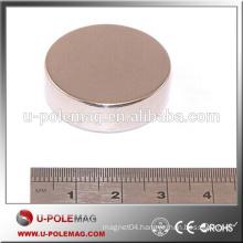 Hot sale D30x5mm Ni coating Neodymium Disc Magnet