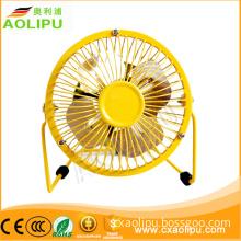 OEM Aluminium Material 4/6/8inch protable cheap usb electric fan