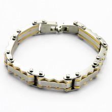 Bracelet en diamant en acier inoxydable