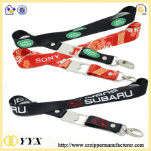 Heat transfer printing custom bottle opener lanyard