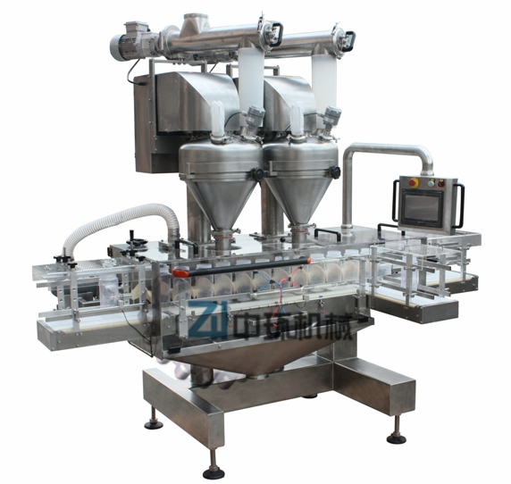 Can Feeding Filling and Packing Machine