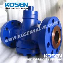 Balança de pressão invertido lubrificado válvulas de plugue (X47)