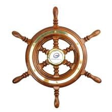 Genuine Marine Hot teakwood  Marine Boat Steering Wheels For Sale