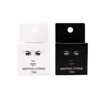 MAPPING STRING Broderie avec ligne de sourcils à l'encre Maquillage semi-permanent Microblading Ligne de marque de positionnement de sourcil d'encre réservée MAPPING STRING Broderie avec ligne de sourcils à l'encre Maquillage semi-permanent Mi