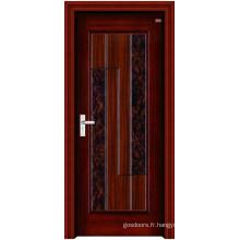 Porte en acier inoxydable en bois (LTG-105)