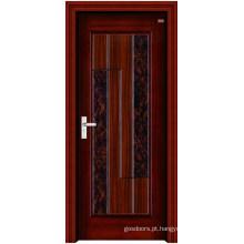 Porta de madeira de aço inoxidável (LTG-105)